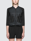 Calvin Klein Performance Mesh Baseball Wind Jacket Picture