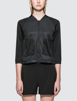 Calvin Klein Performance Mesh Baseball Wind Jacket