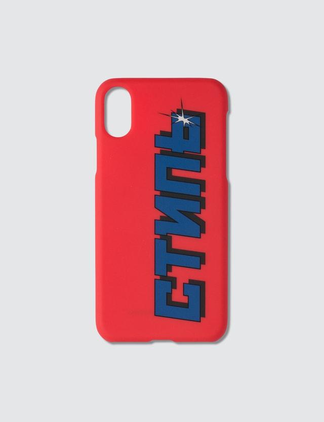 Heron Preston Squared CTNMb Iphone XS Case