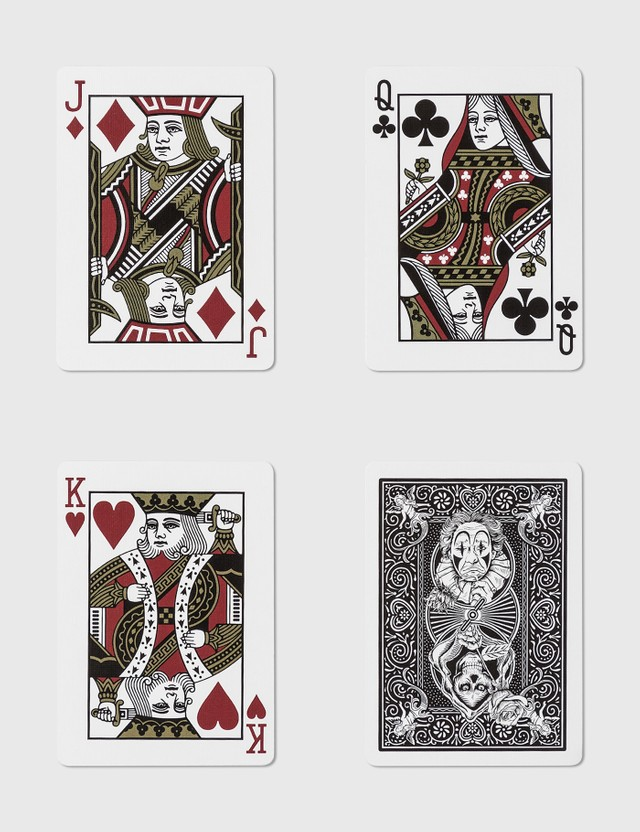 Freshthings 챌린저 바이시클 놀이용 카드 Black Unisex