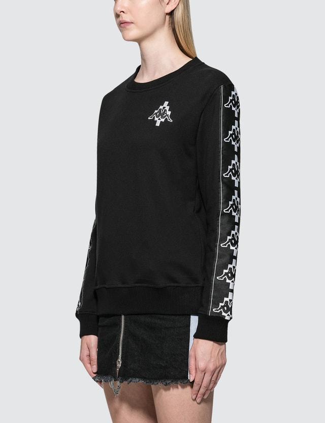 Marcelo Burlon Kappa Tape Sweatshirt