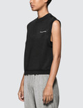 Alexander Wang.T Heavy Sleek French Terry Sleeveless Tank