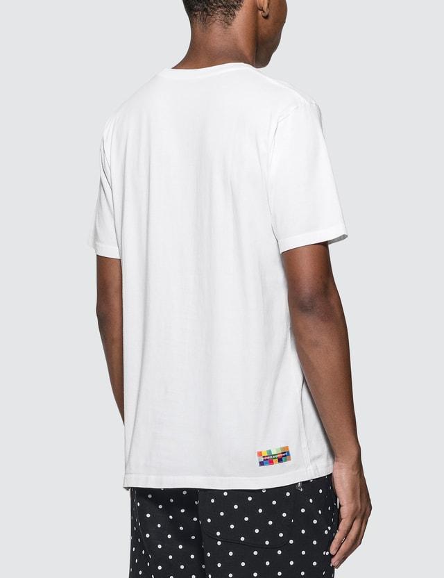uniform experiment Color Chart Box Logo T-Shirt White Men