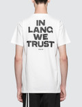 Helmut Lang In Lang We Trust Print S/S T-Shirt Picture