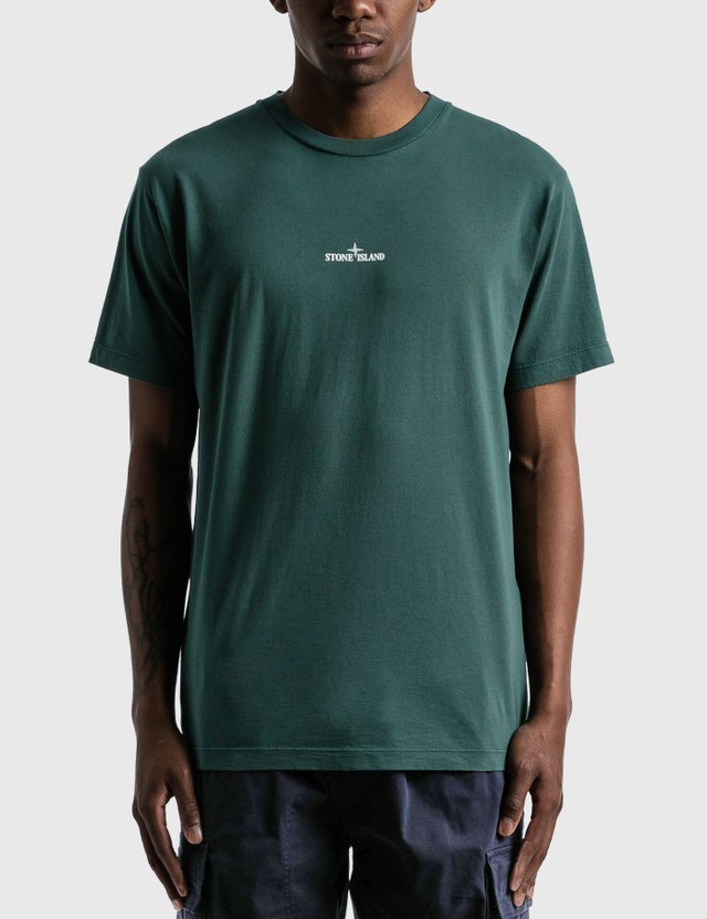 Stone Island Large Back Logo T-Shirt Petrol Men