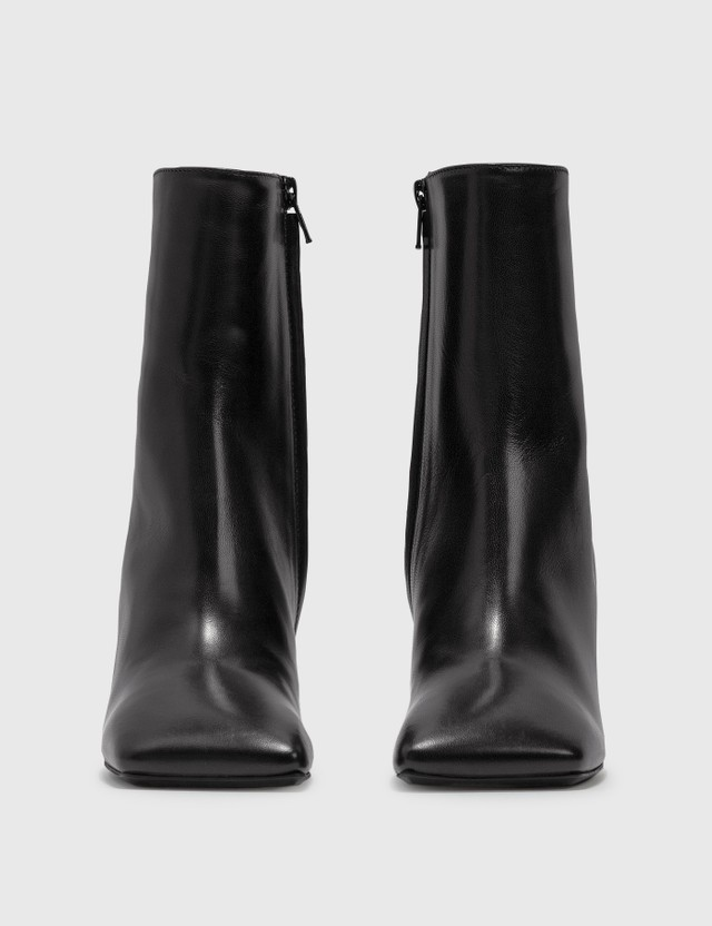 Misbhv Metal Bar Square Ankle Boots Black Women