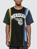 Needles 7 Cuts Wide College T-shirt Picture