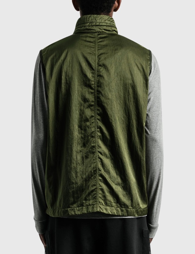 Stone Island Pocket Vest Olive  Men