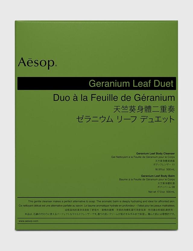 Aesop Geranium Leaf Duet N/a Unisex