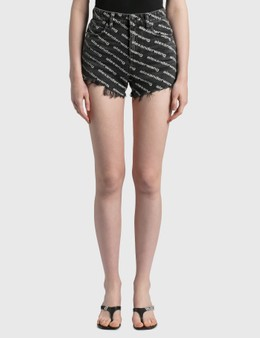 Alexander Wang.T Bite Shorts
