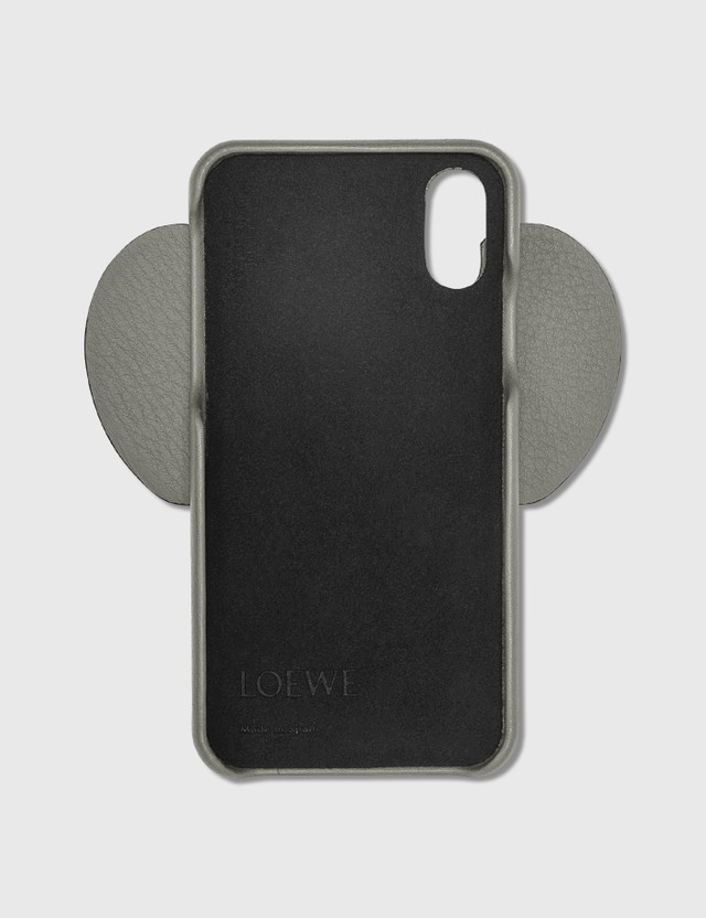 Loewe Elephant iPhone Cover Xs Max Gunmetal Women