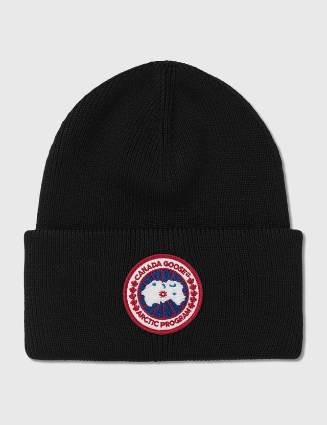 Canada Goose Arctic Disc Toque Beanie Black Men