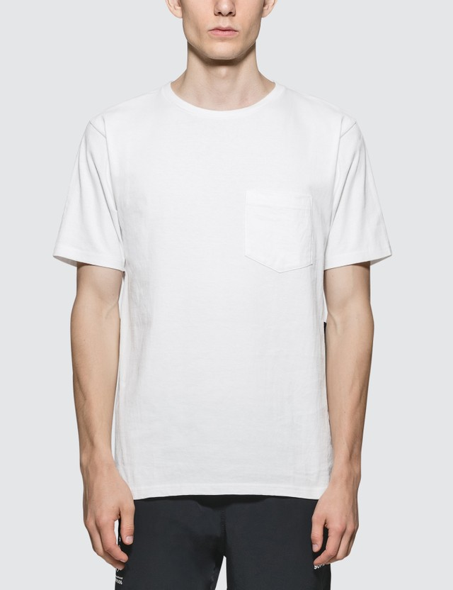 SOPHNET. Back Hem Panel Pocket T-Shirt