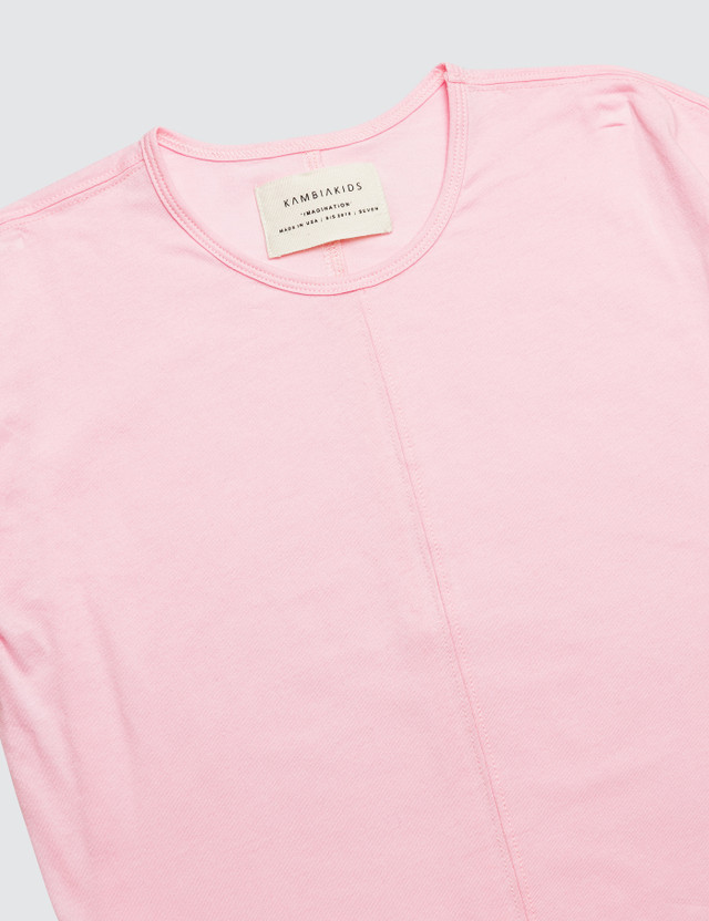 Kambia Short Sleeve Top Pink Kids
