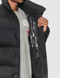 Moncler Strahlhorn Long Down Jacket Black Men