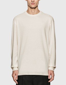 Bottega Veneta Sunrise Cotton Long Sleeve T-Shirt