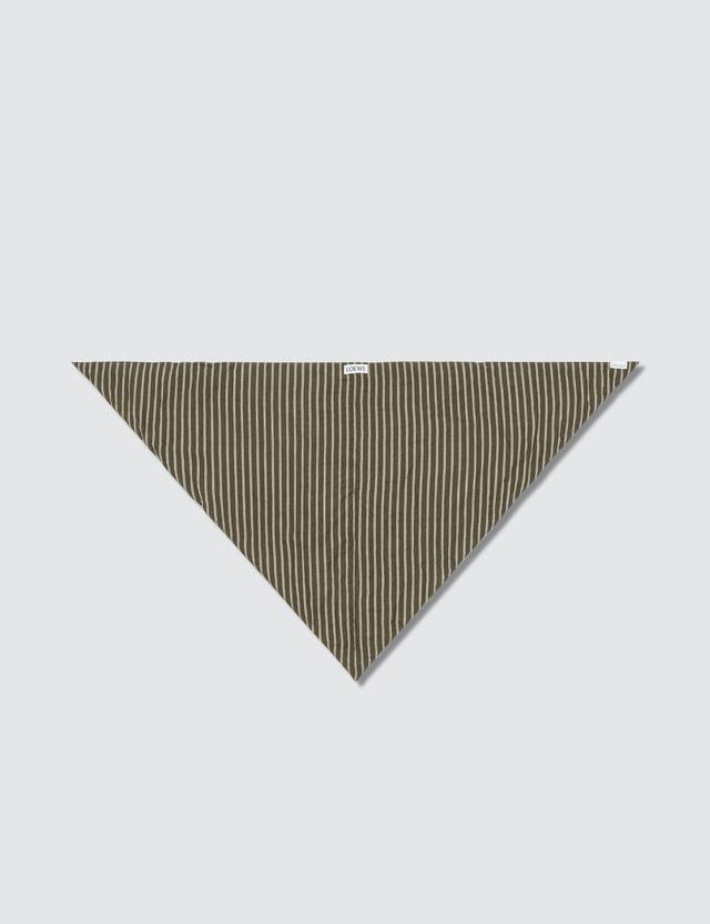 Loewe Padded Triangle Scarf