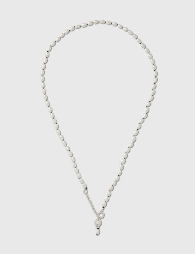 D'heygere D'heygere X Dada Service Rice Pearl Necklace