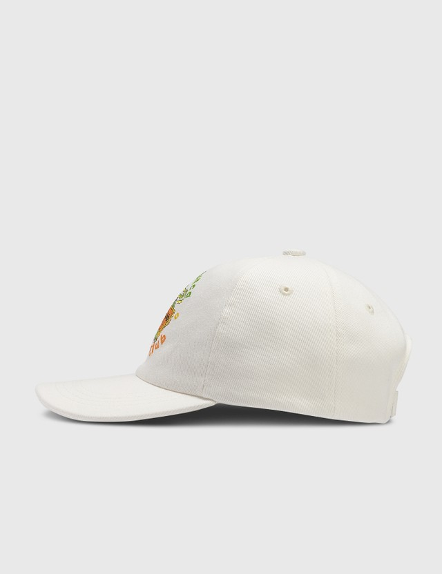 Casablanca Casablanca Tennis Club Embroidered Cap White Men