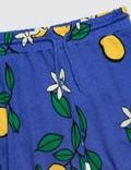 Mini Rodini Lemon Sweatshorts