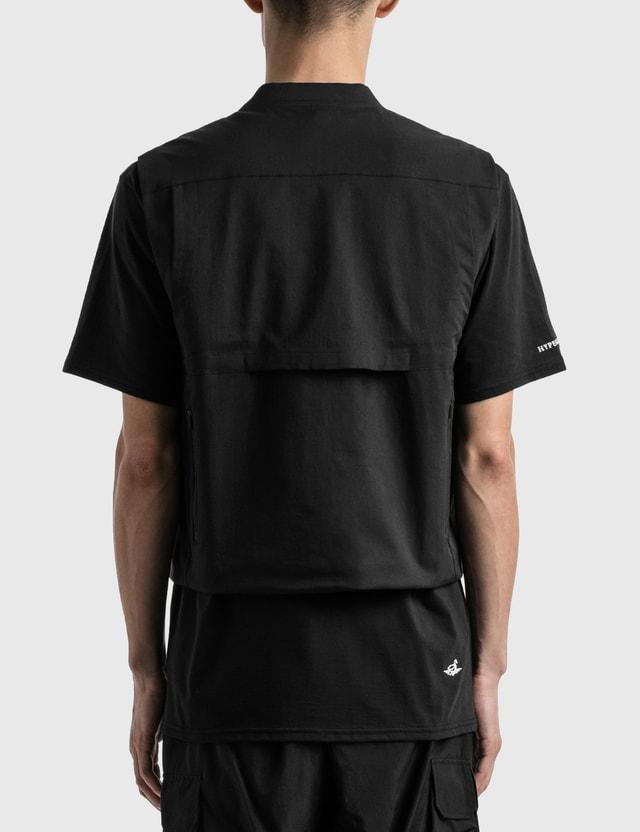 bagjack GOLF Hypegolf X bagjack GOLF Tec Vest Black Men