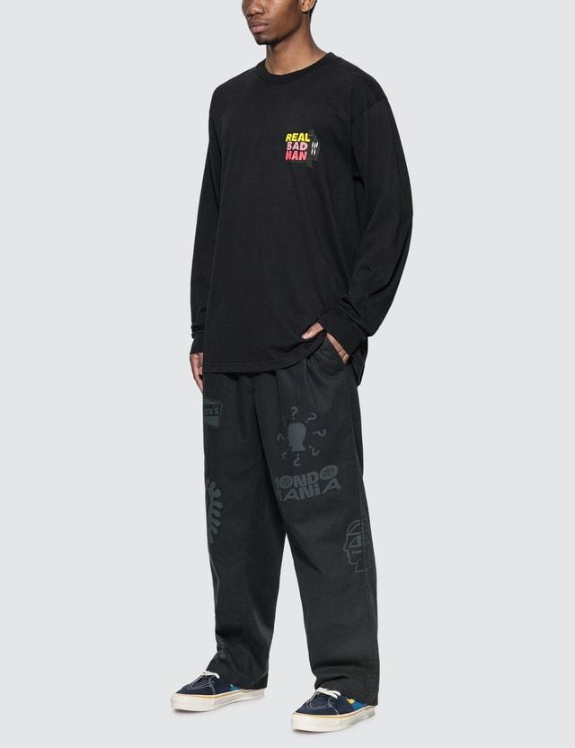 Real Bad Man Driver Long Sleeve T-Shirt Black Men