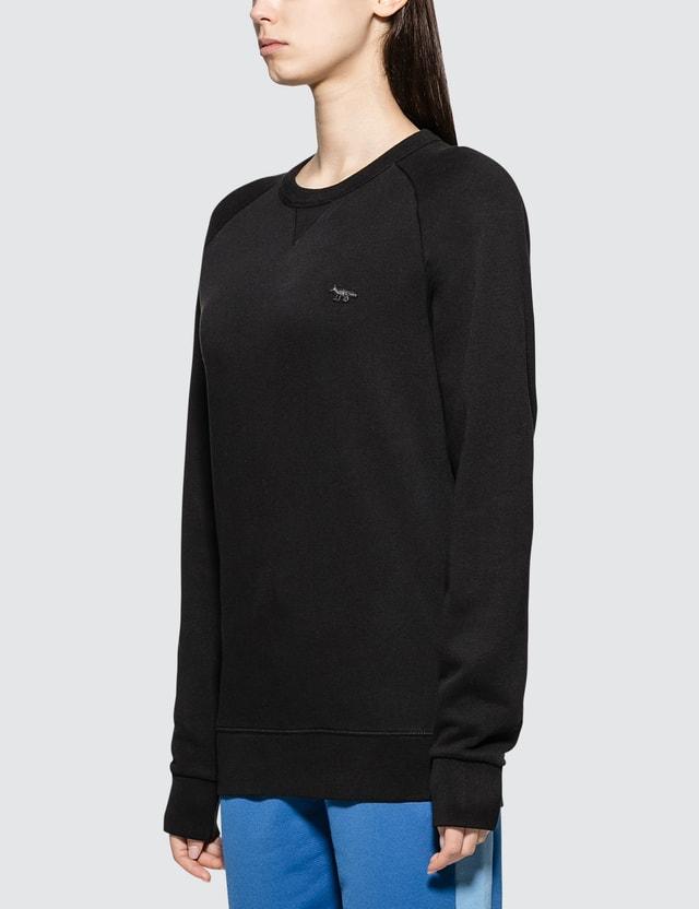 Maison Kitsune Black Fox Sweatshirt