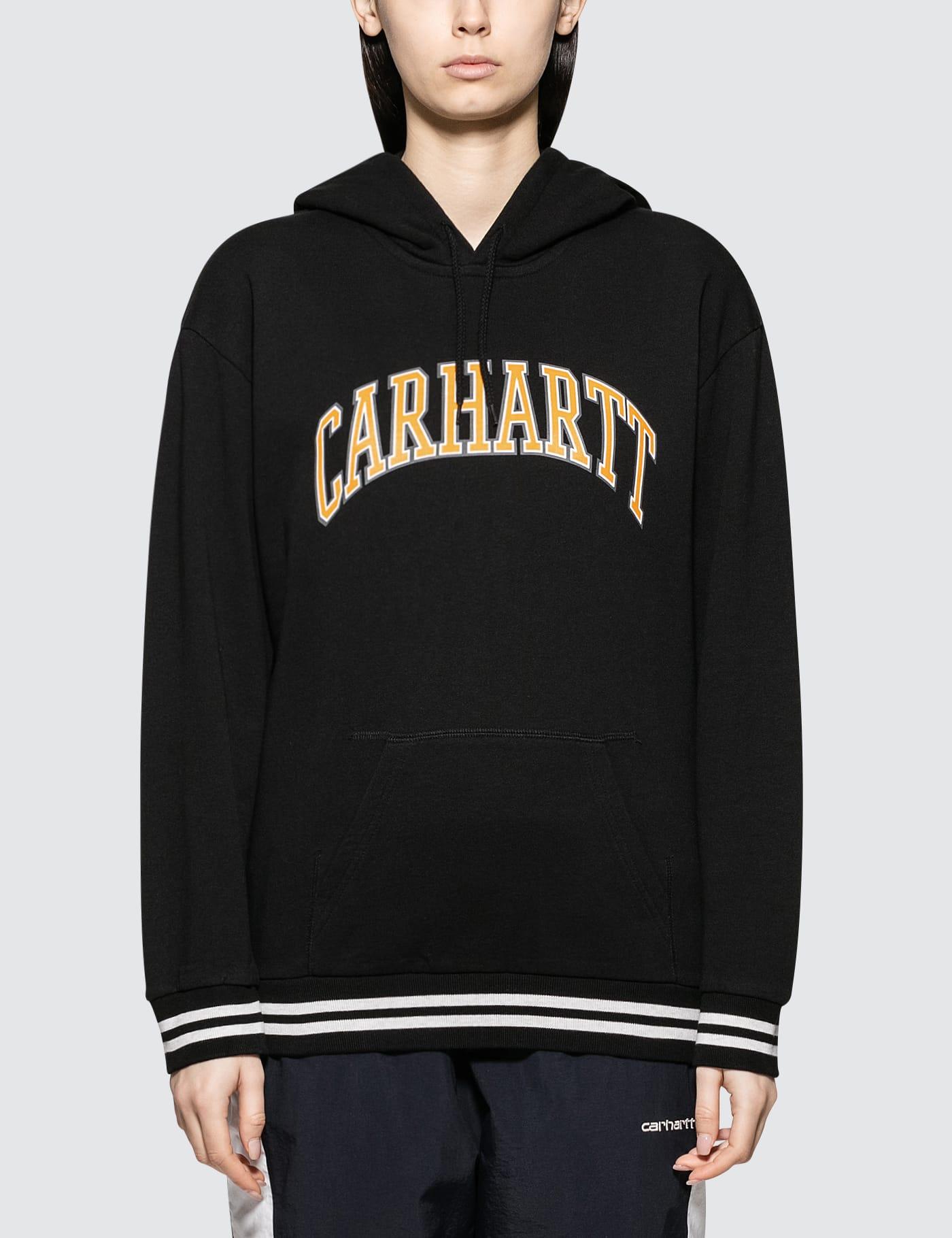 CARHARTT   Carhartt Work In Progress Hooded Knowledge Sweatshirt   Goxip