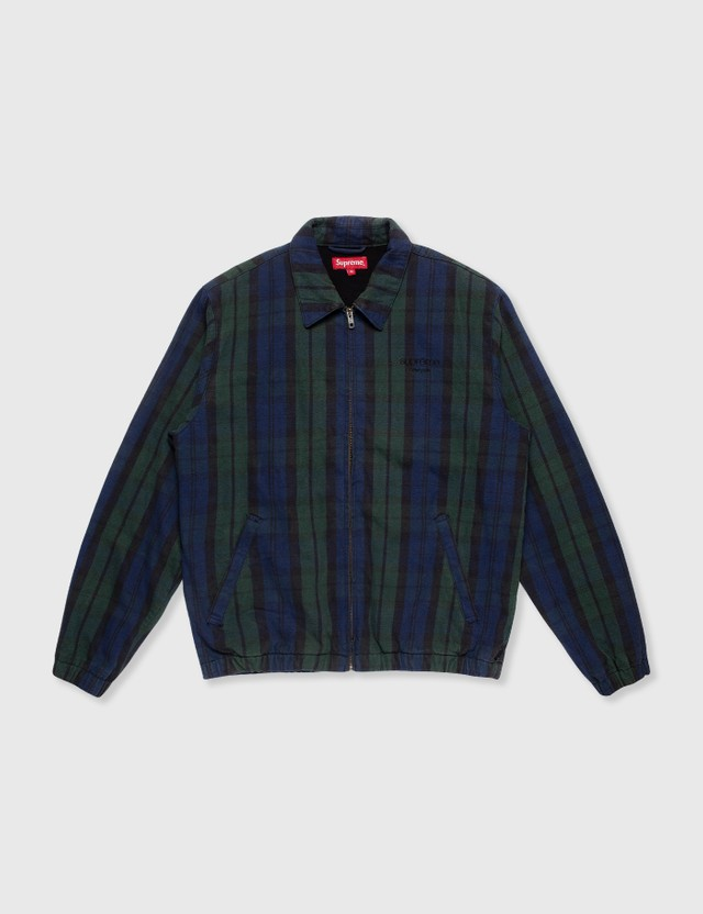 Supreme Supreme Check Jacket Multicolor Archives