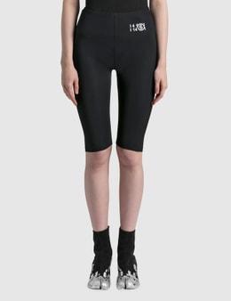 MM6 Maison Margiela Lycra Jersey Cycling Shorts