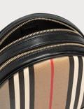 Burberry Icon Stripe E-canvas Louise Bag