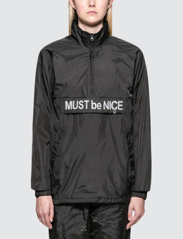 "RIPNDIP ""Must Be Nice"" Half Zip Anorak Jacket"