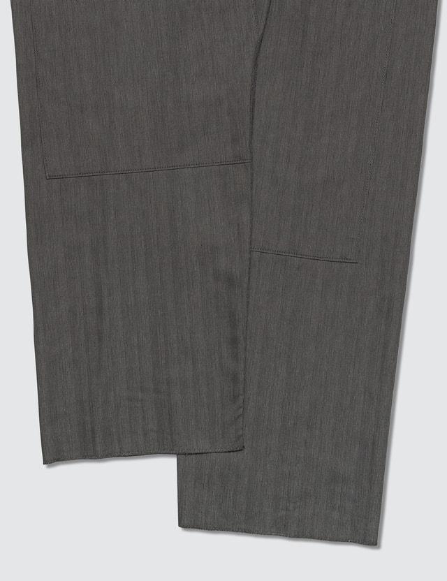 Lanvin Wide Pants with Adjustable Belt