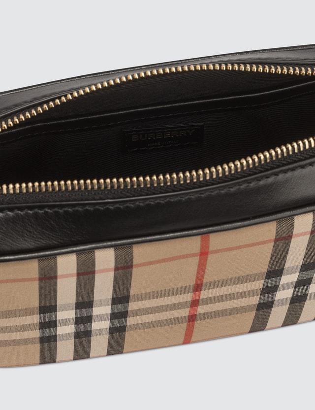 Burberry Elongated Check Camera Bag