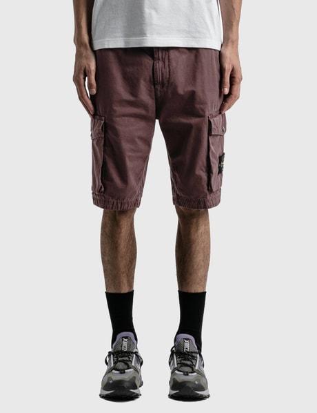 스톤 아일랜드 Stone Island Compass Logo Cargo Shorts