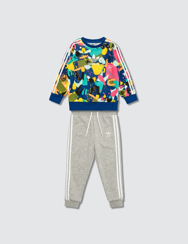 Adidas Originals Crew Set Sweater and Pants Set