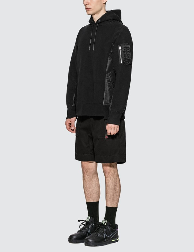 Sacai Gramiccl Cotton Twill Shorts