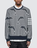 Thom Browne Half Drop Dolphin Sweatshirt Picture