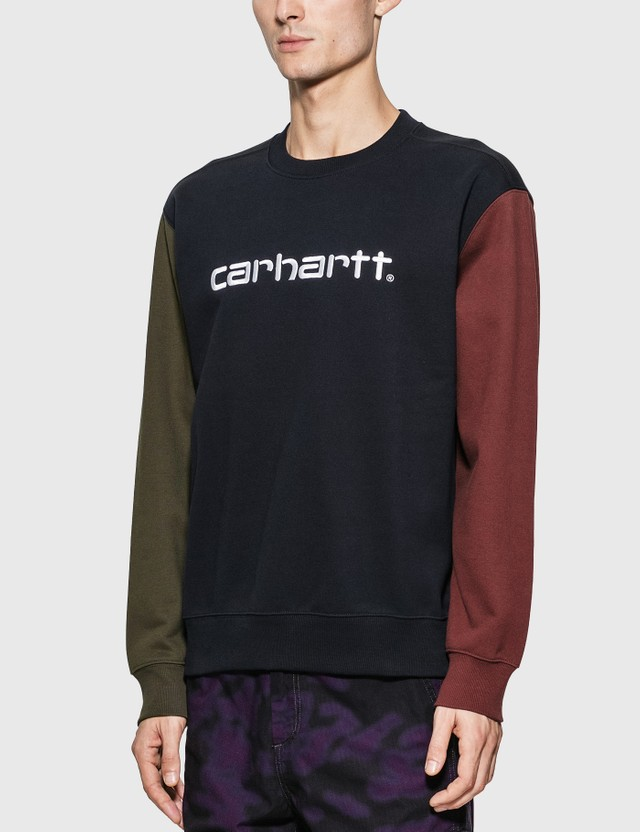 Carhartt Work In Progress Carhartt Tricol Sweatshirt Dark Navy Men