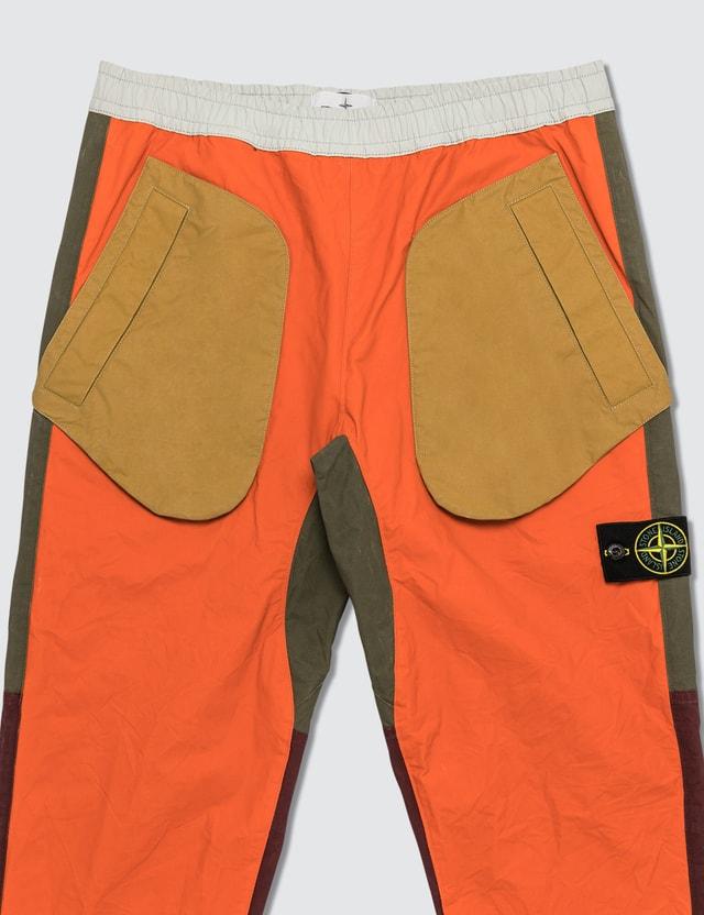 Stone Island Tela Placcata Bicolore Pants