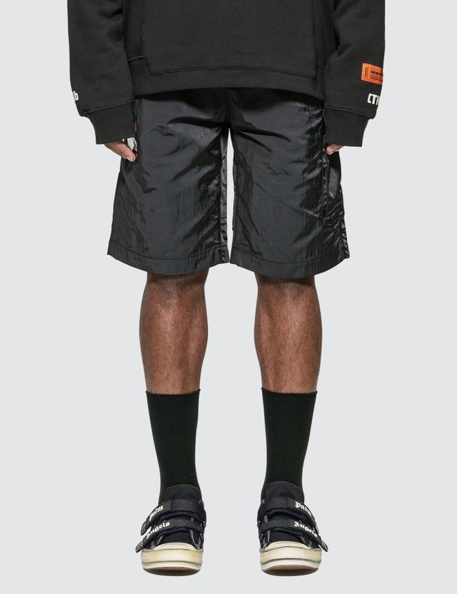 Heron Preston CTNMb Dots Baggy Shorts