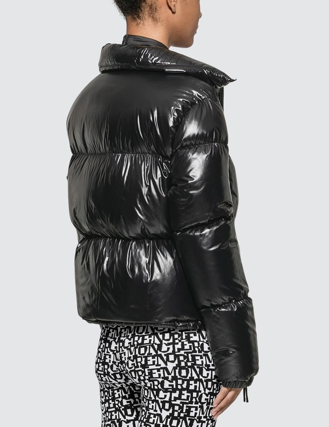 Moncler Nylon Lacque Down Jacket