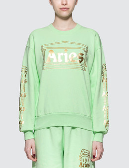 Aries Temple Crew Sweatshirt