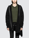 Unravel Project Terryb Asymm Hoodie Zip Cape Picture