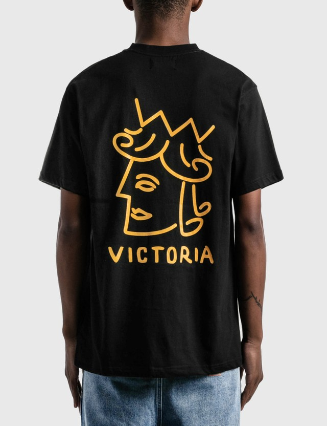 Victoria Queenhead Logo T-Shirt Black Men