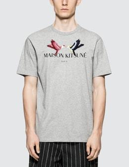 Maison Kitsune Lovebird S/S T-Shirt