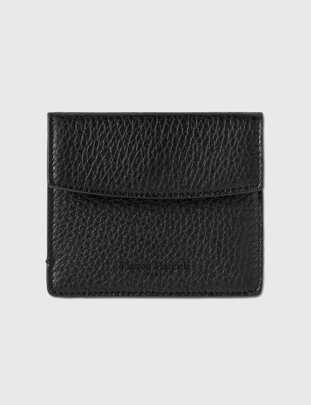 Maison Margiela Cards / Coins Holder Black/black Men
