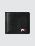 Maison Kitsune Tricolor Fold Wallet Picture