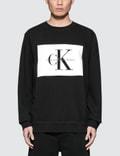 Calvin Klein Jeans CK Box Logo Regular Fit Sweatshirt Picture