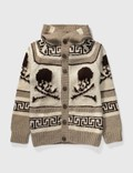 Mastermind Japan Mastermind Japan Skull Cashmere Hooded Cardigan Picture